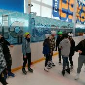 Klasy 6 i 7 na lodowisku (19.02.2020)