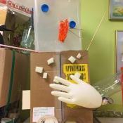 Dziwolągi z odpadów - prace uczniów klas: IV i V - zajęcia techniczne 2018 r._14