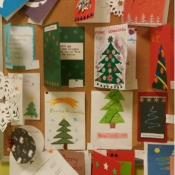Konkurs na kartkę świąteczną w języku niemieckim (22.12.2015)