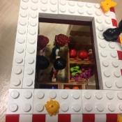 Przypowieść o Synu Marnotrawnym klockami Lego malowana - prace uczniów klasy II C