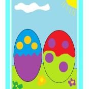 Wielkanocne pisanki – prace komputerowe