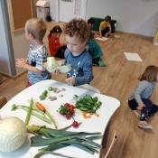 Zajączkowa twórczość warzywna
